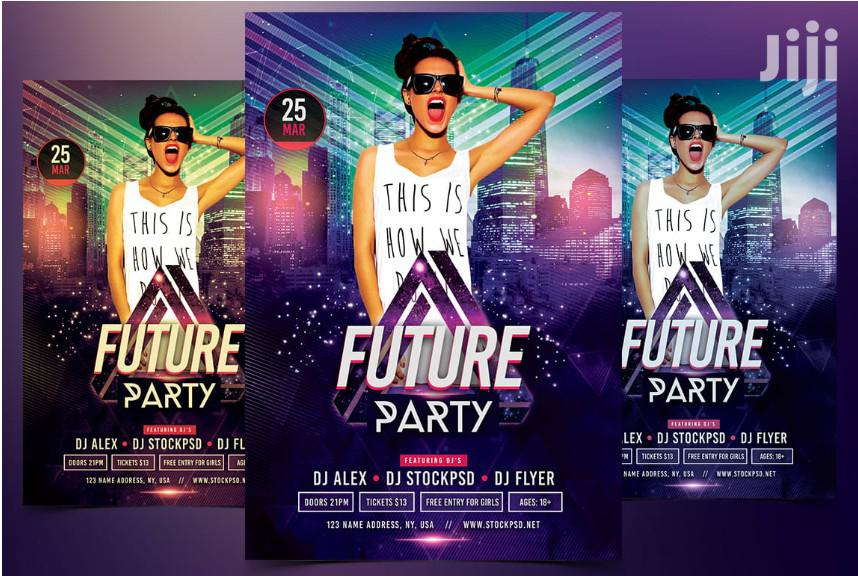 I Will Design Amazing Event, Party And Club Posters/Flyers Design | Computer & IT Services for sale in Zimmerman, Nairobi, Kenya