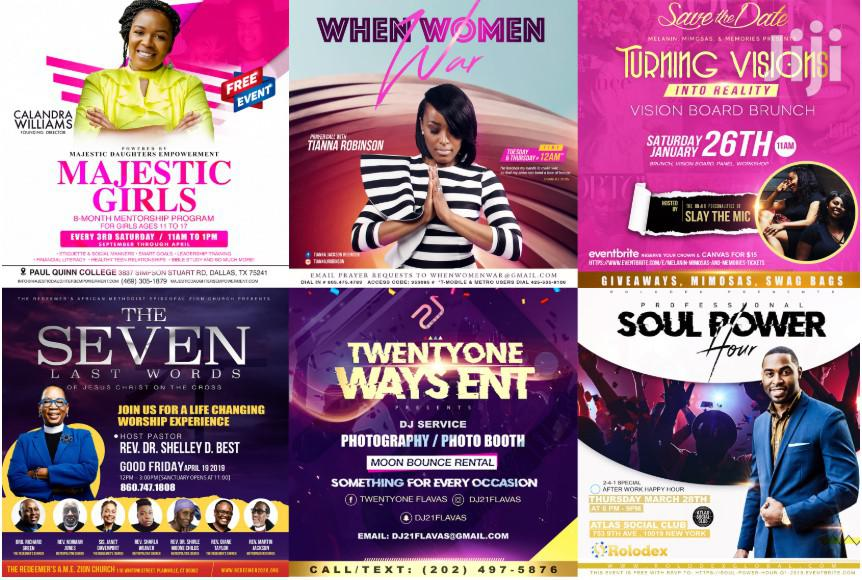 Archive: I Will Design Amazing Church Flyers