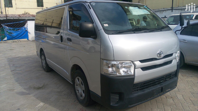 Toyota HiAce 2014 Silver   Buses & Microbuses for sale in Tononoka, Mombasa, Kenya