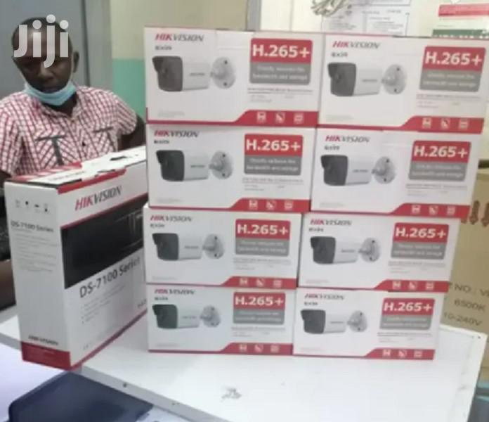 Eight 8 Hikvision 2MP IP CCTV Cameras Complete System Kit