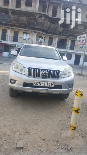 Toyota Land Cruiser Prado 2011 Silver | Cars for sale in Mombasa, Kisauni