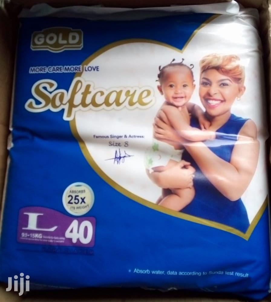 Archive: Softcare Large(9.1-15kg) 40pcs