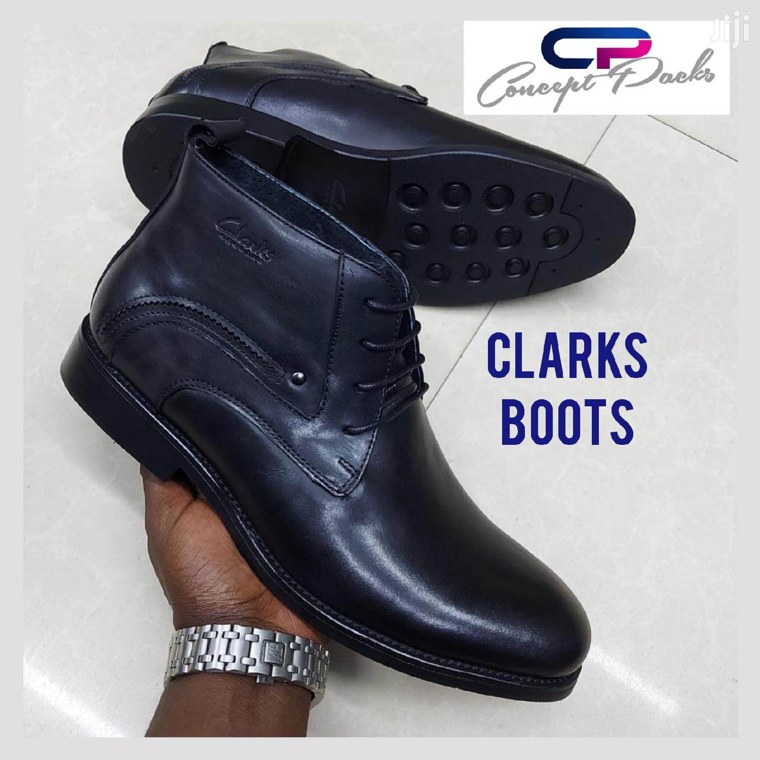 Archive: OFFER! Clark Black Boots at 5800