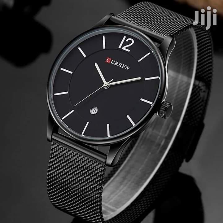 Curren 8231 Fashion Casual Quartz Watch Men Complete Calenda