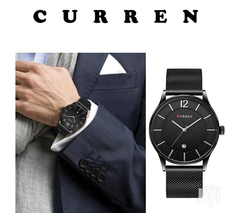 Curren 8231 Fashion Casual Quartz Watch Men Complete Calenda | Watches for sale in Nairobi Central, Nairobi, Kenya