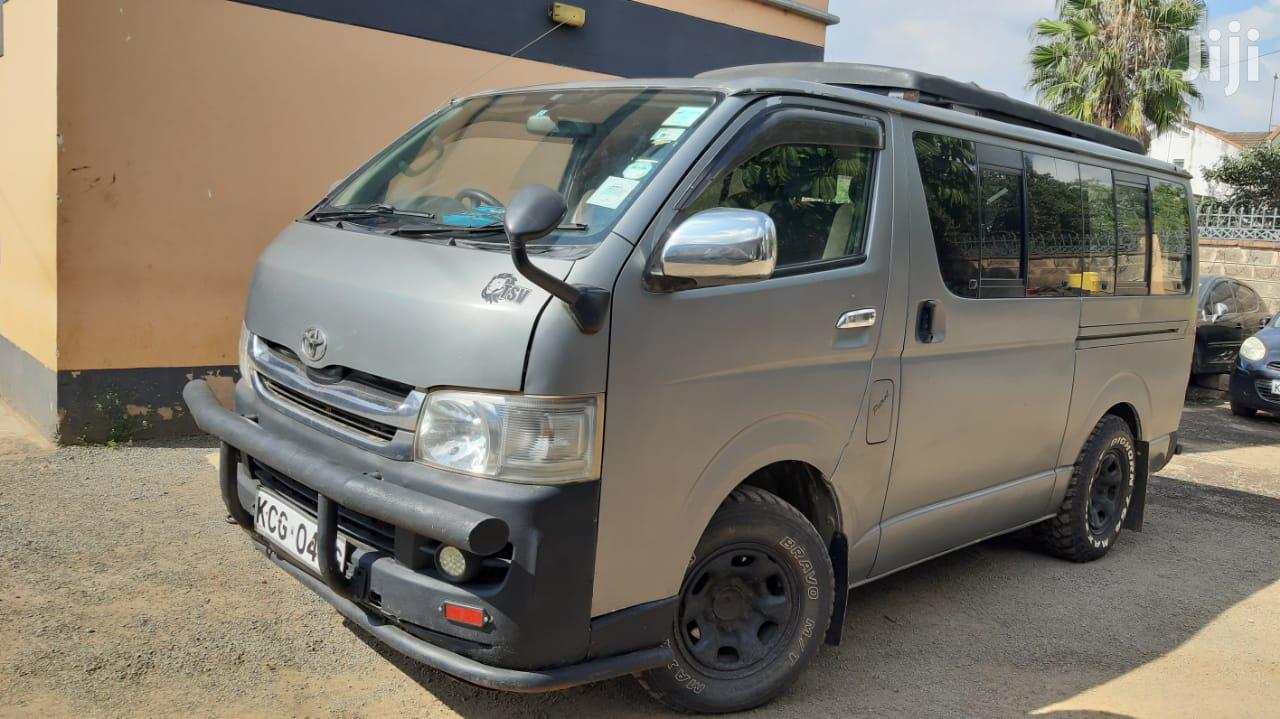 Toyota Hiace Tour Van 2008 Silver for Sale