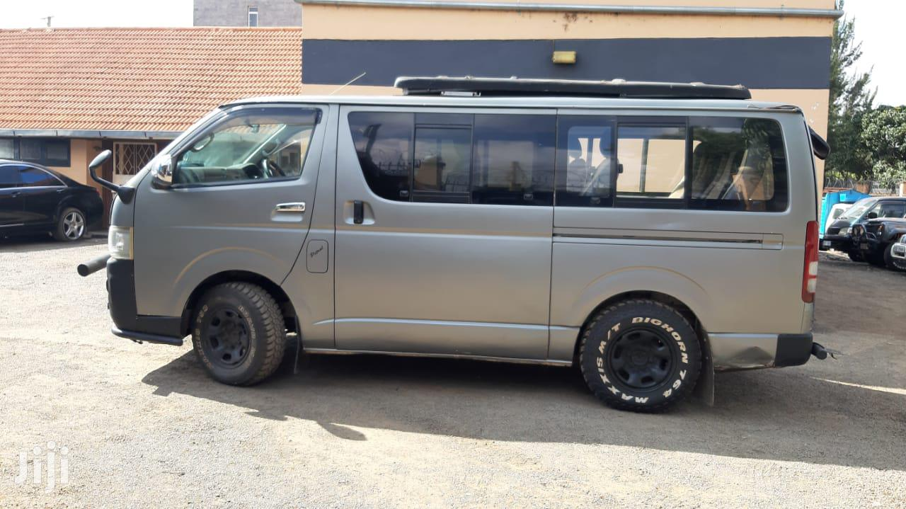 Toyota Hiace Tour Van 2008 Silver for Sale | Buses & Microbuses for sale in Woodley/Kenyatta Golf Course, Nairobi, Kenya