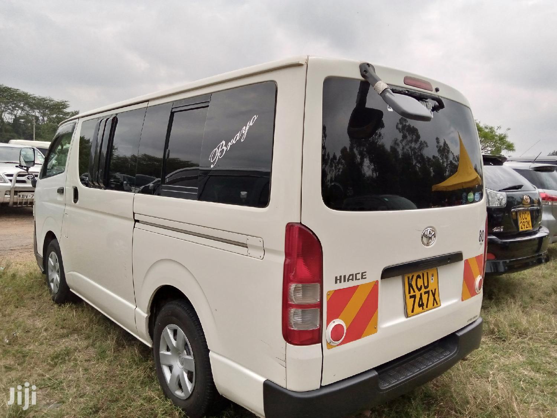 Toyota Hiace 2012 White For Sale   Buses & Microbuses for sale in Nairobi Central, Nairobi, Kenya
