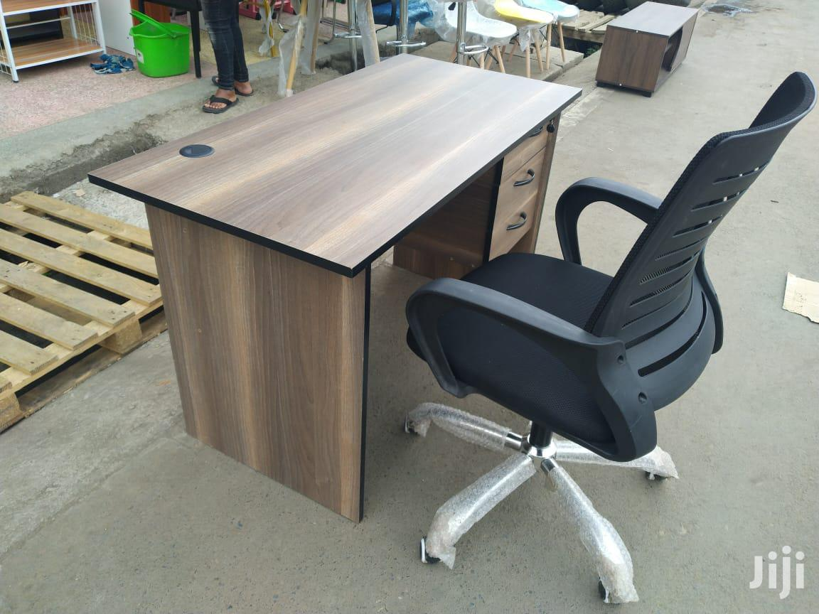 Office Study Desk and a Swivel Chair