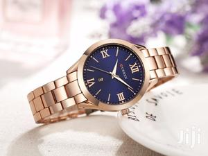 Curren 9007 Rose Gold Blue Classic Watch | Watches for sale in Nairobi, Nairobi Central