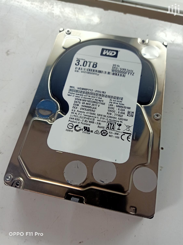 3 Terabyte Hard Drive Available