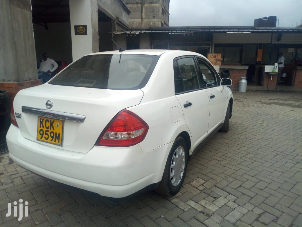 Archive: Nissan Tiida 2009 White