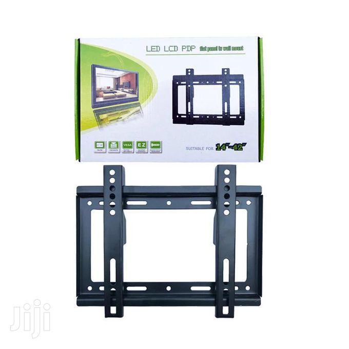 14''- 42'' TV Flat Panel Wall Bracket Holder Black