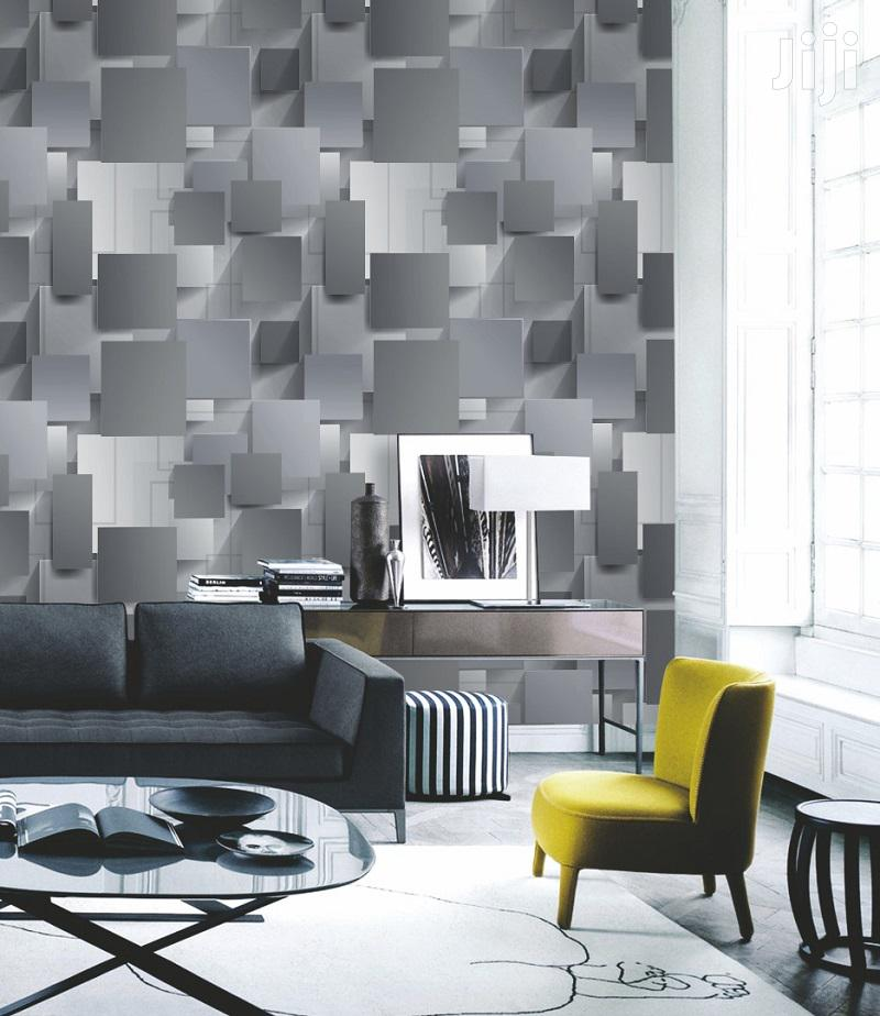 Grey 3D Decorative Wallpapers