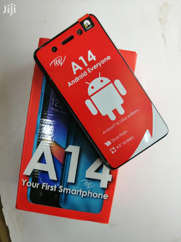New Itel A14 8 GB Black