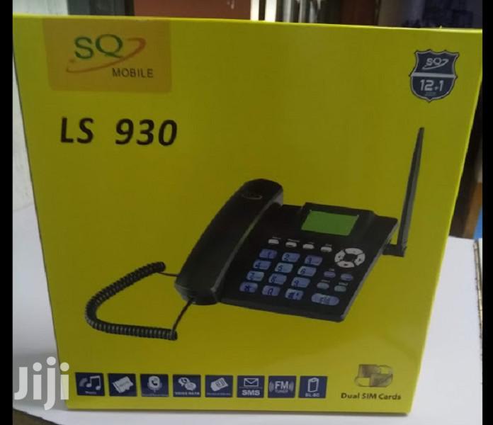 SQ LS 930 GSM Wireless Landline Phone Brand New Sealed
