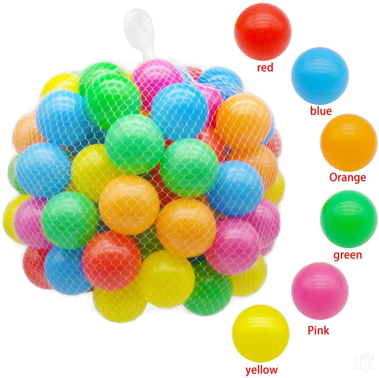 Colorful Kids Children Soft Plastic Play Pit Balls - 10 Pcs