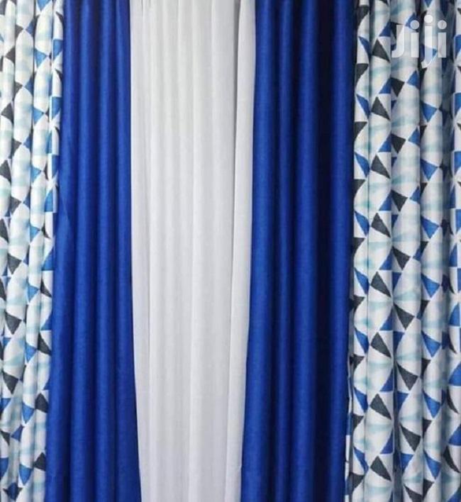 Blue Decorative Curtains