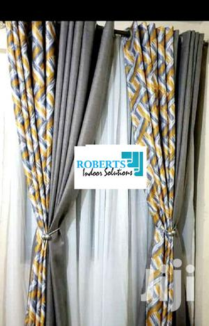 Mastered Yellow and Grey Curtains   Home Accessories for sale in Nairobi, Nairobi Central