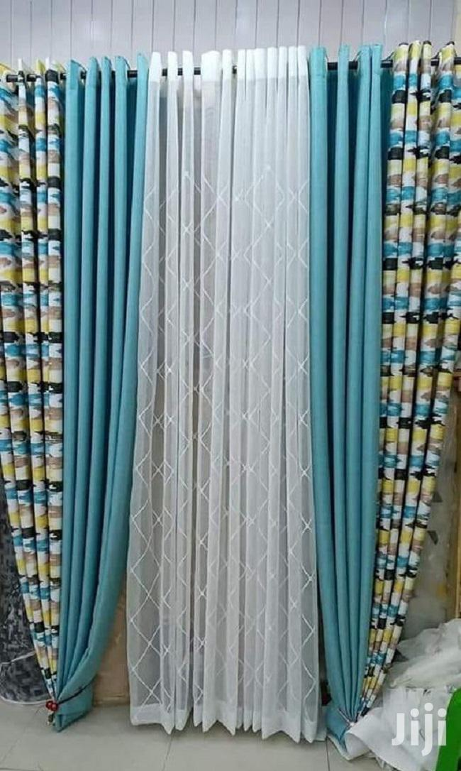 Light Blue Linen Curtains In Nairobi Central Home Accessories Roberts Indoor Solutions Jiji Co Ke