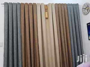Grey, Brown and Beige Linen Curtain   Home Accessories for sale in Nairobi, Nairobi Central
