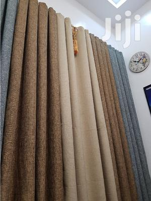 Brown and Beige Linen Curtain   Home Accessories for sale in Nairobi, Nairobi Central