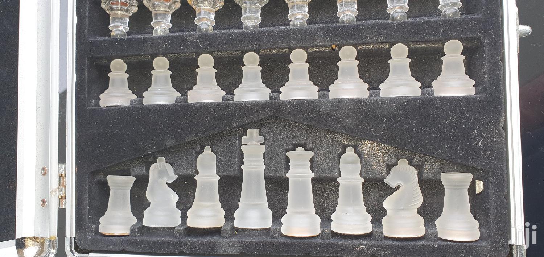 Chess Set In Glass | Books & Games for sale in Nyali, Mombasa, Kenya