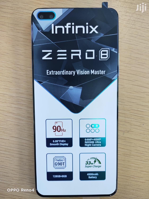 Archive: New Infinix Zero 8 128 GB Silver
