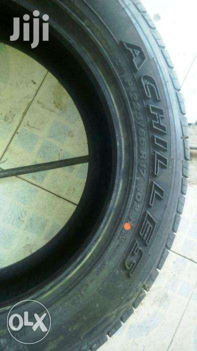 Achilles Tires Brand New In Size 225/65R17 Ksh 13,800 | Vehicle Parts & Accessories for sale in Nairobi Central, Nairobi, Kenya