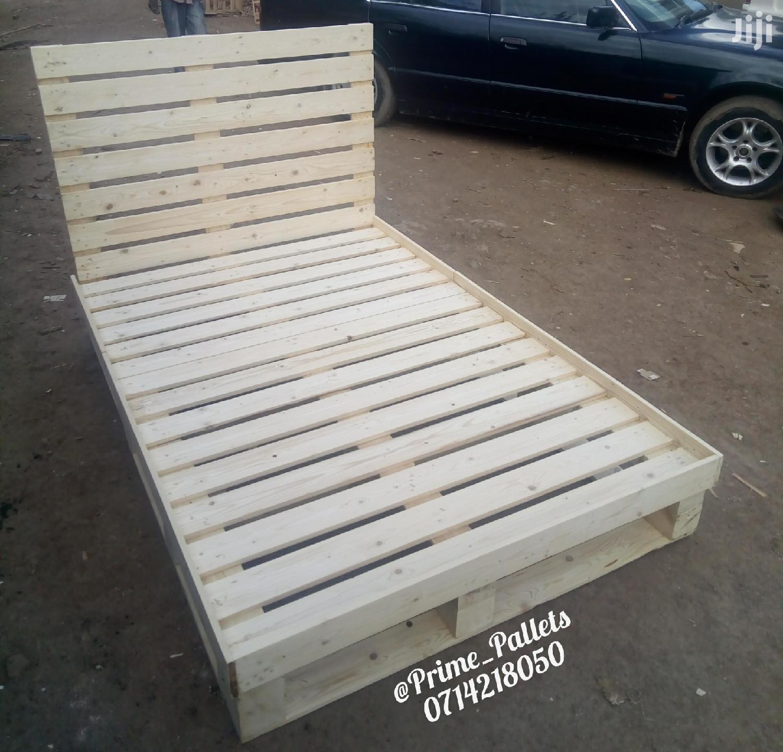 Pallet Bed | Furniture for sale in Embakasi, Nairobi, Kenya