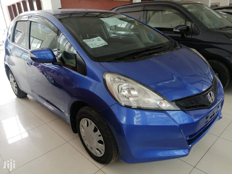 Honda Fit 2013 Blue