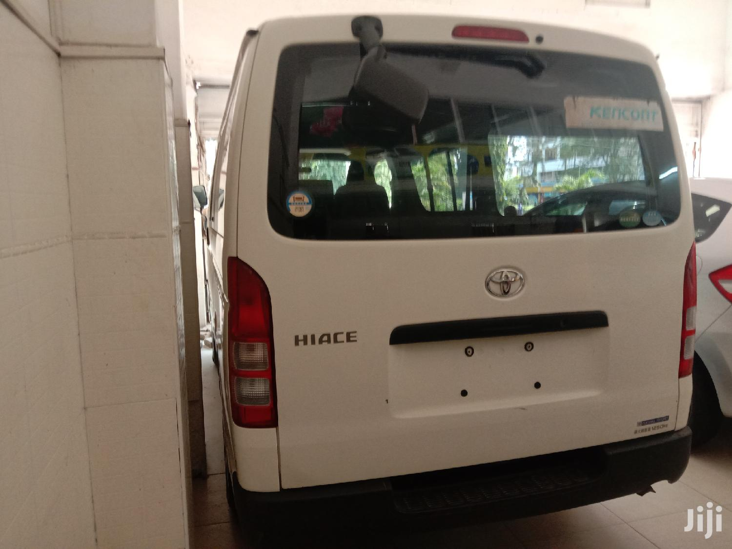 Toyota Hiace 2013 White for Sale | Buses & Microbuses for sale in Mvita, Mombasa, Kenya