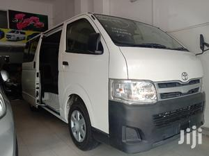 Toyota Hiace 2013 White For Sale | Buses & Microbuses for sale in Mombasa, Ganjoni