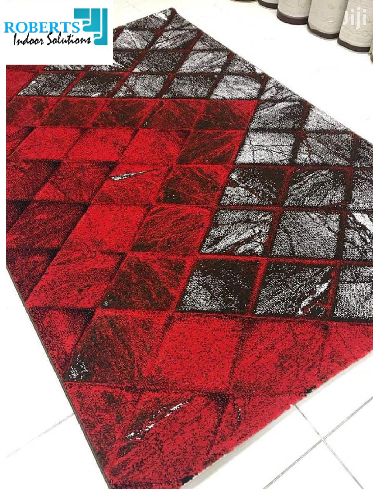 Red And Black Persian Carpet