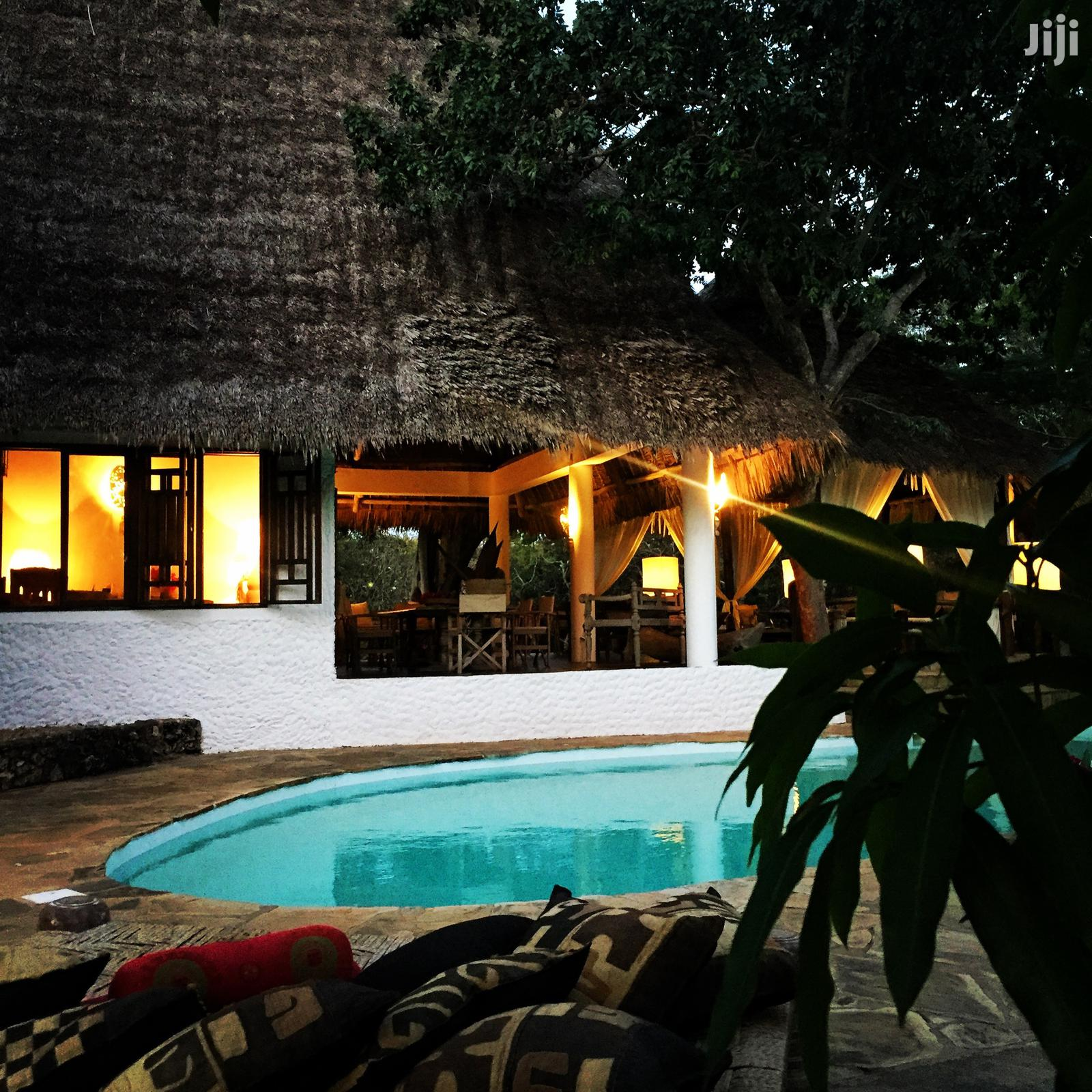 Villa With Pool And Garden Direct Access To The Beach | Short Let for sale in Malindi Town, Kilifi, Kenya
