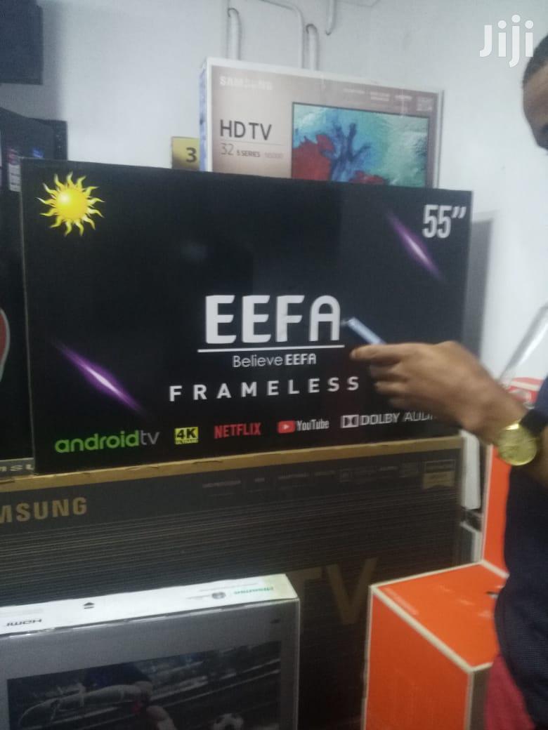 Eefa Smart TV 55 Inch | TV & DVD Equipment for sale in Nairobi Central, Nairobi, Kenya