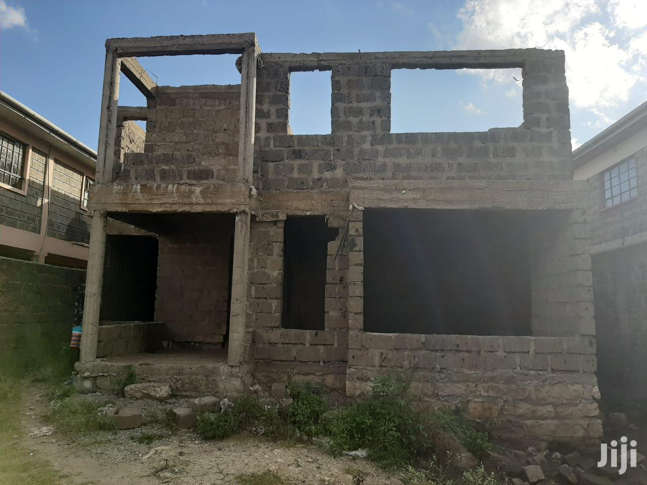 Four Bedroom Unfinished Maisonnette House for Sale | Houses & Apartments For Sale for sale in Utawala, Nairobi, Kenya