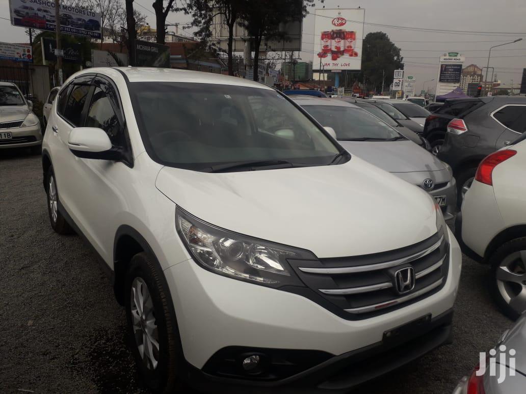 Honda CR-V 2012 White