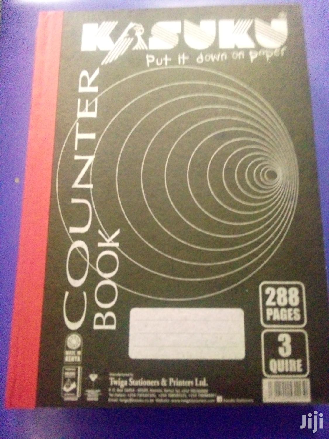Counter Books Or Quire Books Hard Cover
