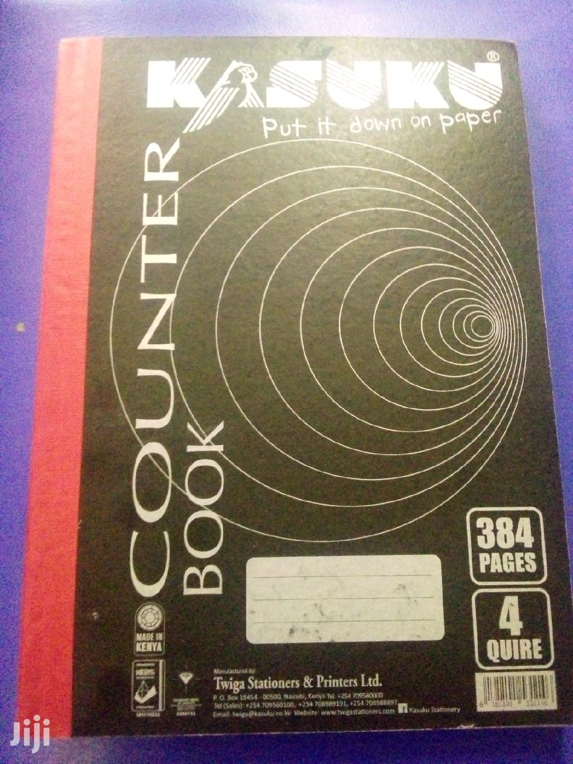 Counter Books Or Quire Books Hard Cover | Books & Games for sale in Nairobi Central, Nairobi, Kenya