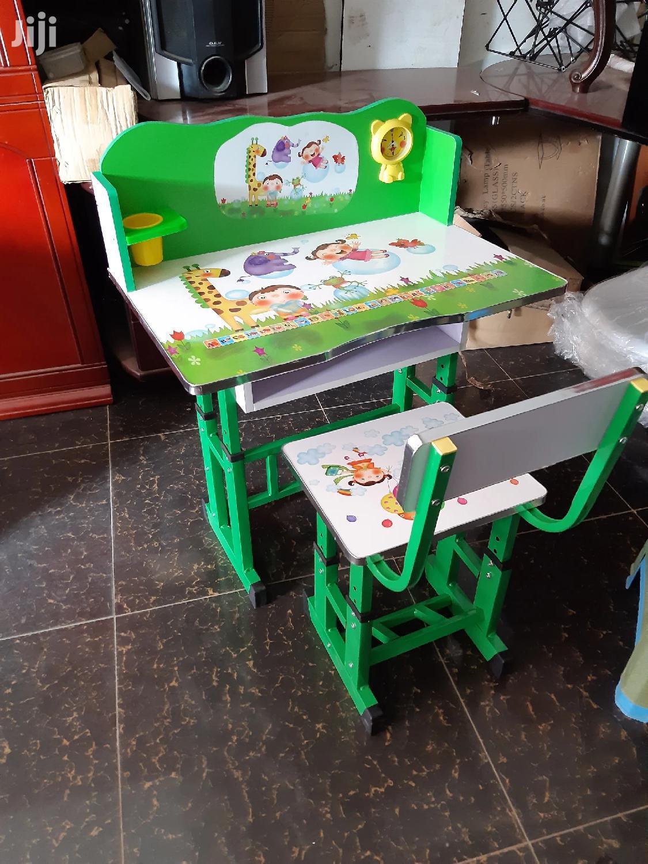 Kids Study Desk And Seat