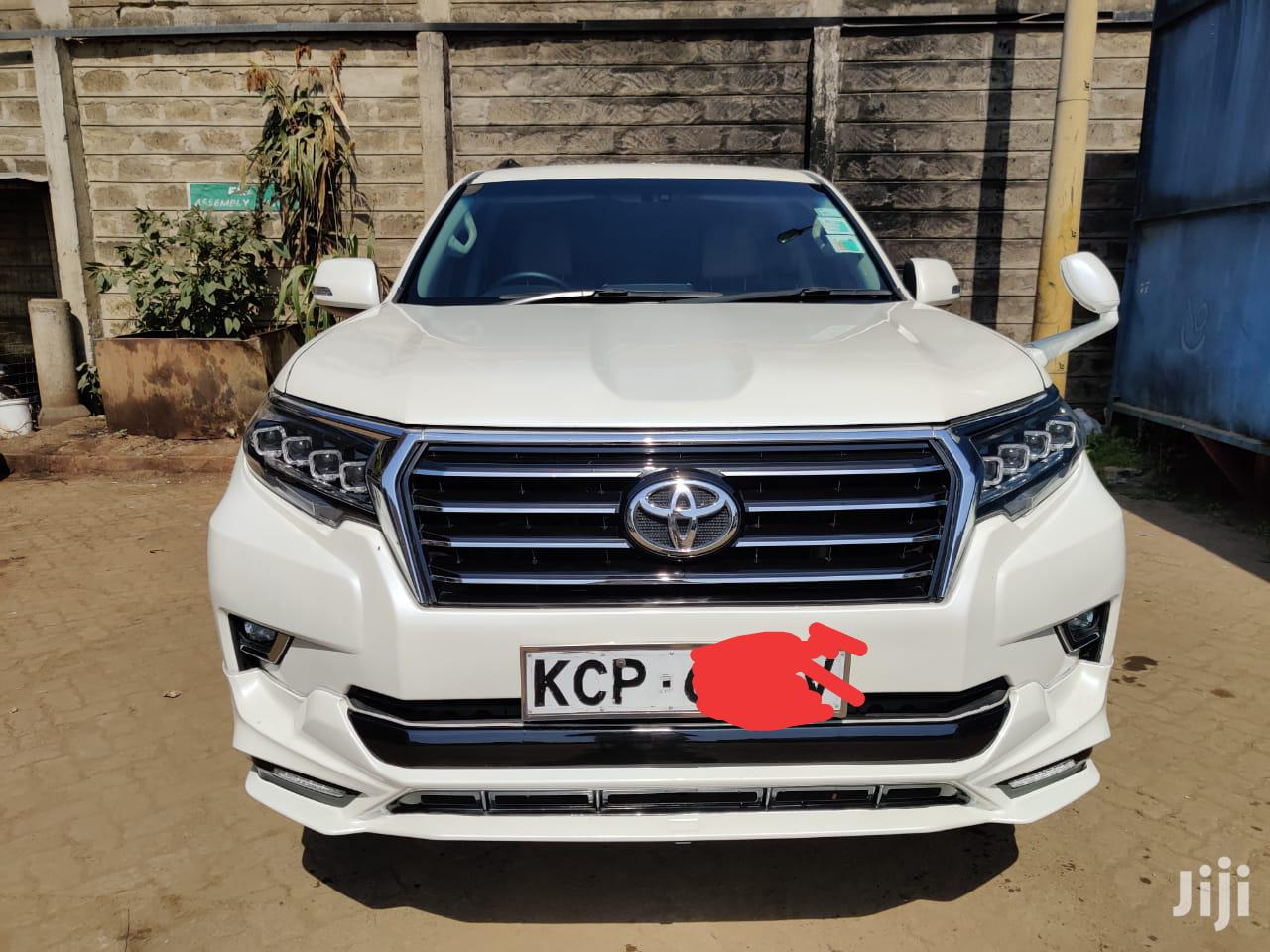 Toyota Land Cruiser Prado 2010 GX White | Cars for sale in Tudor, Mombasa, Kenya
