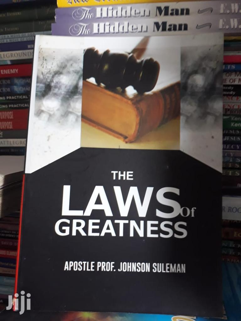 Archive: The Laws of Greatness