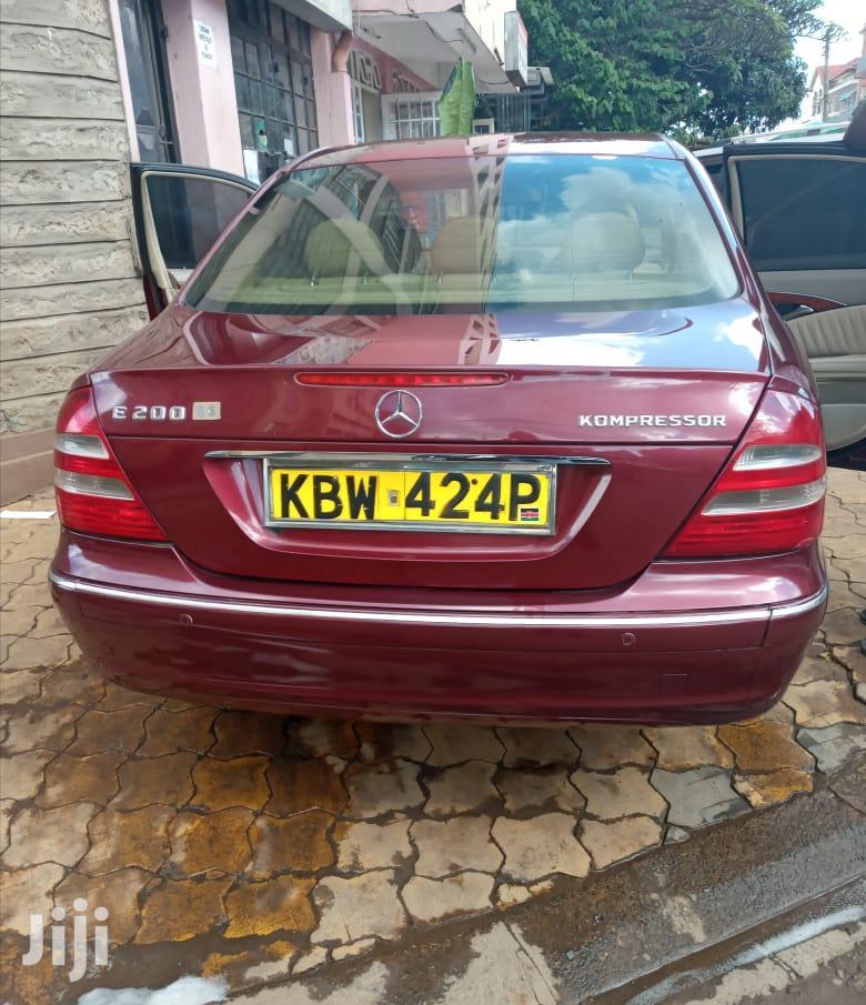 Mercedes-Benz E200 2006 Red | Cars for sale in Nairobi Central, Nairobi, Kenya