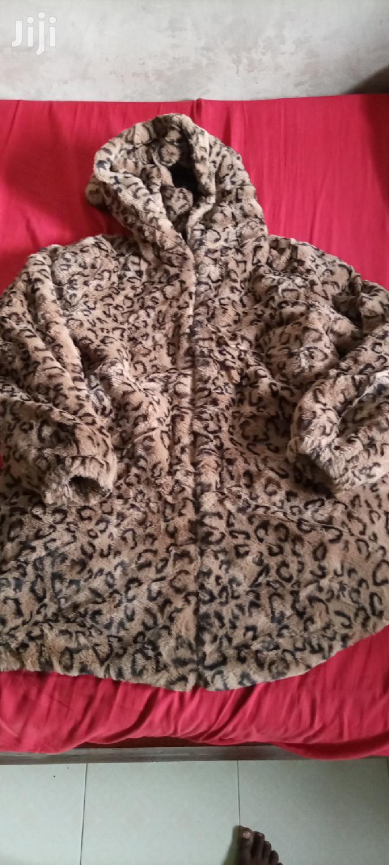 Animal Print Fur Coat