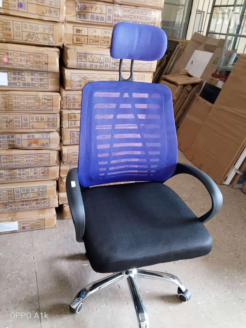 Office Swing Chair With Head Rest | Furniture for sale in Ngara, Nairobi, Kenya