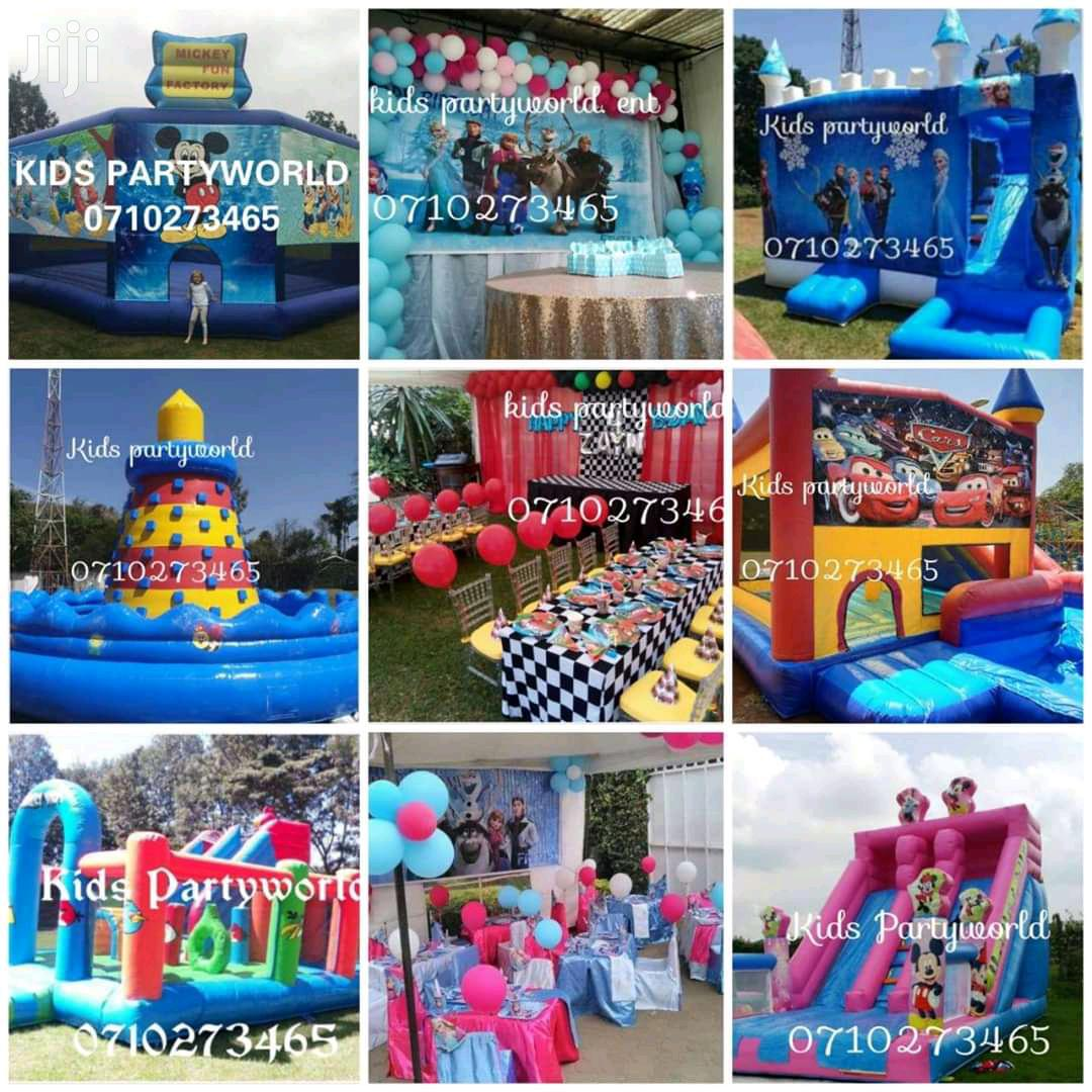 Archive: Bouncing Castles,Trampolines,Bouncy,Balloons Decor for Hire