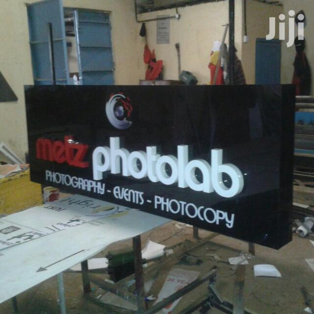 Outdoor Advertising Sign Board