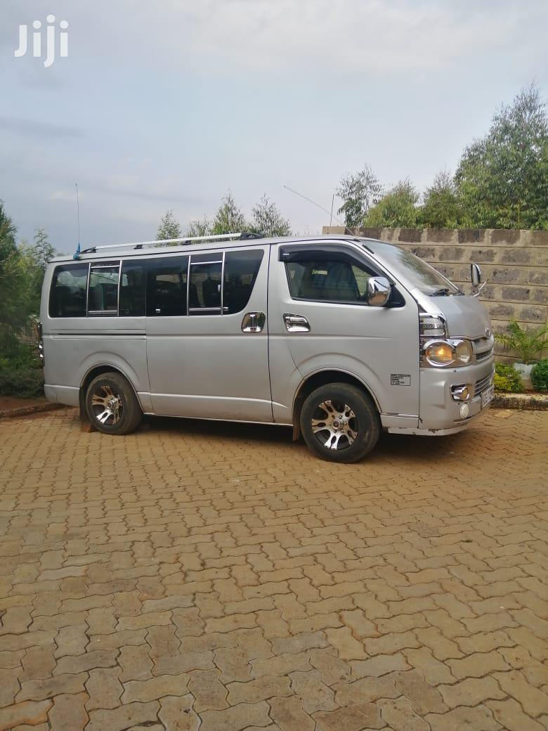 Toyota Hiace Diesel 2008 Silver For Sale