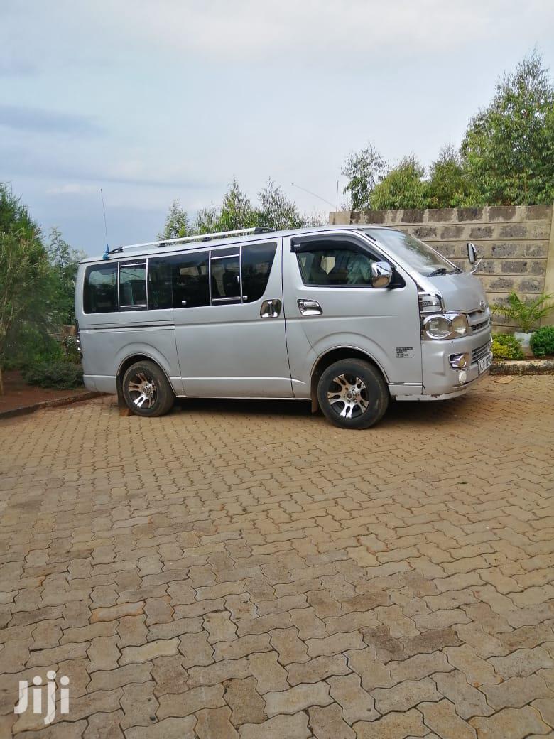 Toyota Hiace Diesel 2008 Silver For Sale | Buses & Microbuses for sale in Nairobi South, Nairobi, Kenya
